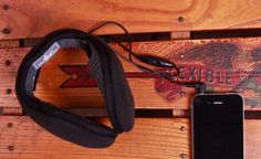 """Headphone Ear Warmers: Do an """"I'm cold"""" dance with your own playlist. These warm and fuzzy ear-warmers have built-in stereo headphones that work with all MP3 players. $34.99."""