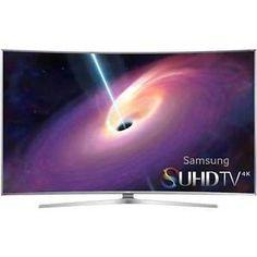 Buy Samsung UN55JS9000  Curved 55-Inch 2160p 3D Smart 4K SUHD LED TV