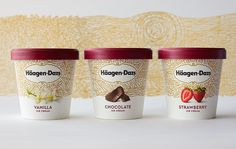 Häagen-Dazs' Updated Packaging Now Features a Tapestry of Flavor — The Dieline | Packaging & Branding Design & Innovation News