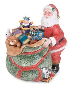 Take a look at this Old-Fashioned Christmas Cookie Jar by Fitz and Floyd on #zulily today!