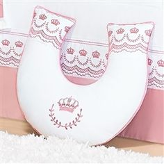 Almofada Amamentação Elegance Rosé