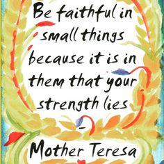 Mother Teresa | QOTD