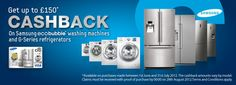 Samsung Ecobubble Cashback Offer at Appliances Online! They have a ton of other great offers, too!
