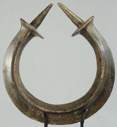 Monnaie en bronze TORQUE YORUBA Nigeria Neck ring currency Art africain tribal   eBay