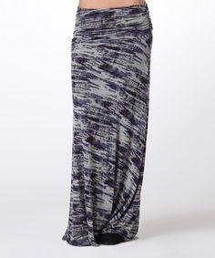 Another great find on #zulily! Purple Tie-Die Maxi Skirt - Plus #zulilyfinds