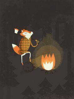 Fire Fox By Blake Suarez