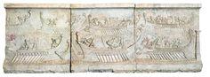 En el 31 aC tuvo lugar la batalla naval de #Actium. Fue decisiva en la guerra civil entre M. Antonio y Octaviano.