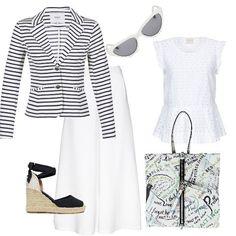 84e1a4e02a7c Un giorno a Biarritz  outfit donna Urban per tutti i giorni