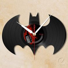 Batman Vinyl Wall Clock – $70