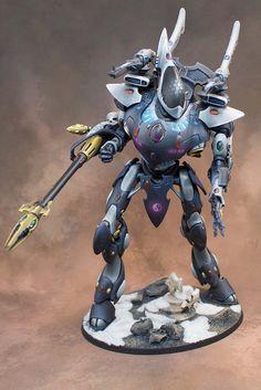 40k - Eldar Wraith Knight by Wesley H