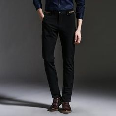 2017 Slim Fit Business Trousers