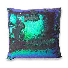 Aviva Mermaid Sequins Pillow in Amethyst 18 x 18