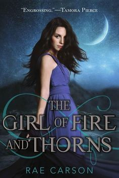 Replacement copy of the popular title, The Girl of Fire and Thorns (Fire and Thorns, #1).  A fearful sixteen-year-old princess discovers her heroic destiny after being married off to the king of a neighboring country in turmoil and pursued by enemies seething with dark magic.