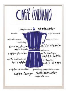 Buona Domenica! Andiamo a prenderci un buon caffé italiano? - ¡Feliz Domingo ! ¿vamos a tomar un buen café al estilo italiano? ( Imagen : Etsy.com:http://www.etsy.com/shop/lebonvintage)