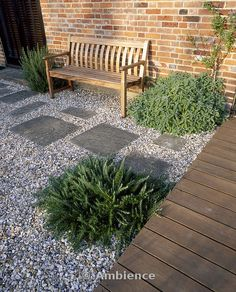 Front garden ideas with gravel gravel landscaping ideas pea gravel patio Pea Gravel Patio, Gravel Landscaping, Small Front Yard Landscaping, Garden Paving, Garden Paths, Landscaping Ideas, Gravel Front Garden Ideas, Backyard Ideas, Pergola Garden