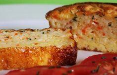 Régime Dukan (recette minceur) : Cake au surimi à la ciboulette #dukan http://www.dukanaute.com/recette-cake-au-surimi-a-la-ciboulette-5119.html
