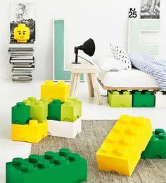 Lego storage blocks
