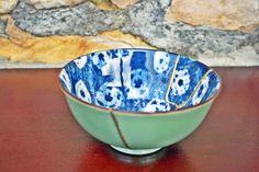 Kintsugi, Chawan, Ceramic Bowls, Wabi Sabi, Matcha, Serving Bowls, Im Not Perfect, Hand Painted, Ceramics