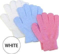 Spa Sister: Spa Sister Exfoliating Bathing Gloves (Color : White) Perricone MD The Crease Cure Duo