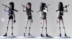 Penny & Candy 3D prints by Andrew Hickinbottom | Cartoon | 3D | CGSociety