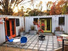 Atlanta Backyard Container House – Tiny House Swoon