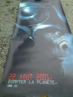 Affiche PVC  LA PLANETE DES SINGES/ Planet of the Apes.Tim Burton