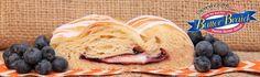 Yummy Blueberry & Cream Cheese Butter Braid pastry #ButterBraid #Pastry #Blueberry