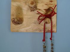 wall Necklace Holder  Rustic pine wood by Coastrangewoodworks, $12.00