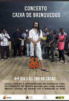 Concerto Caixa de Brinquedos em São Tomé e Príncipe.
