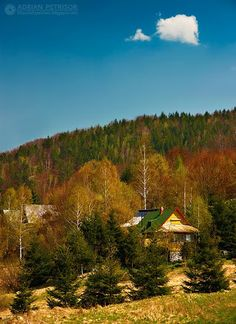 Lesu, Bihor, Romania (by Adrian Petrisor) Ellis Island, Global Citizen, My Heritage, Romania, Great Places, Places To Visit, Country Roads, Cabin, Album