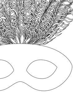 mardi gras masks coloring pages coloring pages pictures imagixs