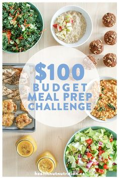 If clean eating is important to you, there are some clean eating meals you may want to start making. If you've been trying to eat clean for a while now, there's a chance you're getting tired of always eating the same things because you're running. Healthy Meals For Two, Healthy Meal Prep, Meals For The Week, Healthy Eating, Clean Eating, Eating Well, Healthy Cooking, Easy Meals, Budget Meal Prep