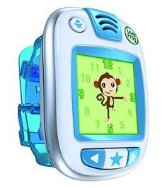 Activity Tracker just for kids. Leapfrog Leapband,Blue.