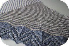 Ravelry: Dream Stripes pattern by Cailliau Berangere Free Knit Or Crochet, Lace Knitting, Crochet Shawl, Knitting Patterns Free, Knit Patterns, Free Pattern, Knit Cowl, Knitted Shawls, Ravelry