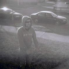 """Sean"" Minneapolis, MN - 2010   * Black and White *  Holga Film Camera *  Deb Carneol Original"