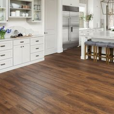 Installing Hardwood Floors, Laminate Flooring, Kitchen Flooring, Wood Laminate, Protecting Your Home, Indoor Air Quality, Kitchen Remodel, Sweet Home, Sam's Club