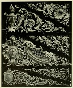 Lombard & Co. 3d Wall Tiles, Door Murals, Stuck, Carving Designs, Plaster Walls, Acanthus, Sacred Art, Wood Carving, Wood Art