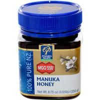 Manuka honey is produced in New Zealand by bees that pollinate the native manuka bush. Manuka honey is an Anti-viral, Anti-bacterial and Anti-Inflammatory. It is used for arthritis, heart disease, infections, wounds, bladder infections, colds, digestion, immune system, influenza and many more.