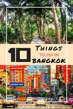 Not just your standard list of things to do in Bangkok. Go for the wake park and learn how to wakeboard or bike around in the green lung of Bangkok.