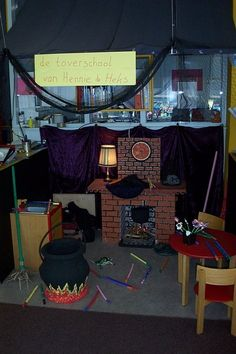 Dramatic Play Area, Dramatic Play Centers, Halloween Art, Halloween Themes, Role Play Areas, Creepy Monster, Play Centre, Hocus Pocus, Classroom Themes
