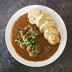 Czech Recipes, Goulash, Chicken, Food, Eten, Meals, Cubs, Kai, Diet