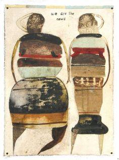 "Saatchi Art Artist Scott Bergey; Painting, ""We Are The News"" #art"