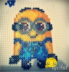 Minion Perler beads by Awi87 on deviantART