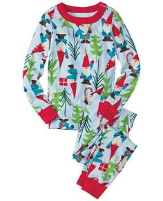 Loved by kids all over the world, our legendary organic knit and smooth seaming surround them in extra-comfy first layer softness. And Hanna-me-down quality means that 50 washes from now they'll come from the dryer bright and happy as ever. Share this cozy softness... <br>• 100% organic cotton ribbknit<br>• Super-smooth flatlock seams<br>• Ready-to-grow cuffs keep the fit <br>• Comfy encased stretch waist<br>• Certified by Oeko-Tex Standard 100<br>• Prewashed<br>• Imported<br><br>Wear snug…