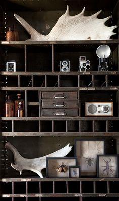 Rustic, old wood, shelf