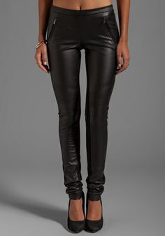 Comfy Black Pants with Stretch Panels.