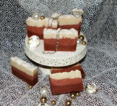 Natural soaps by Jessica Patchouli Soap $5  This is part of some new soaps I will be coming out with for the new year!  I have had several requests for this scented soap!  It is not only beautiful because of the ombre look of the soap but the moisturizing butters will leave your skin so soft!  The patchouli essential oil is not blended with any other scent - It is 100% patchouli scent for all the patchouli lovers out there!! smile emoticon Patchouli Soap, Patchouli Essential Oil, Essential Oils, Natural Soaps, Skin So Soft, Emoticon, Lovers, Ethnic Recipes, Beautiful