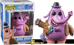 Buy Disney Inside Out Bing Bong Funko Pop! Vinyl from Pop In A Box UK, the home of Funko Pop Vinyl subscriptions and more. Pop Figurine, Figurines Funko Pop, Funko Figures, Vinyl Figures, Bing Bong, Funk Pop, Pop Disney, Disney Pixar, Pop Vinyl Collection