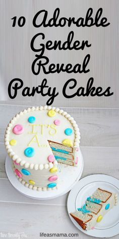 "The ever popular gender reveal cake has been a staple on the dessert tables of many a baby shower. Whether or not the shower is specifically ""reveal"" themed, incorporating a gender reveal cake is a great way to add a little bit of fun and tons of mystery to any party. Gender reveal cakes are different, unique, and totally adorable. These cakes are going to give you a serious case of heart eyes!"