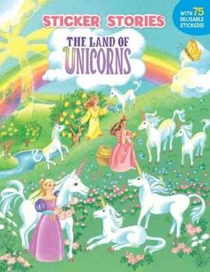 Welcome to a land of enchantment, where unicorns eat golden apples, water nymphs blow rainbow bubbles, and dragons romp and roam through the misty mountains and jewel-covered trees!